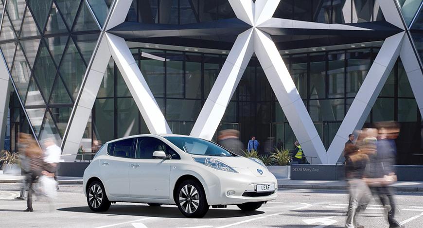 Nissan vil utvikle fremtidens ladestasjon