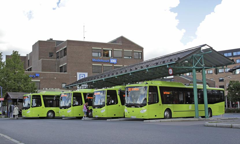 Gass-bussleveranse til Nobina Norge AS