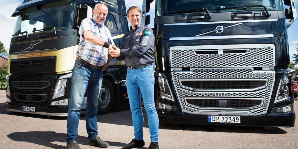 FH16 trekkvogn tar PSRX-teamet mot ny VM-tittel