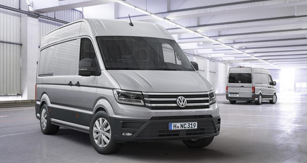 Sniktitt – Nye VW Crafter