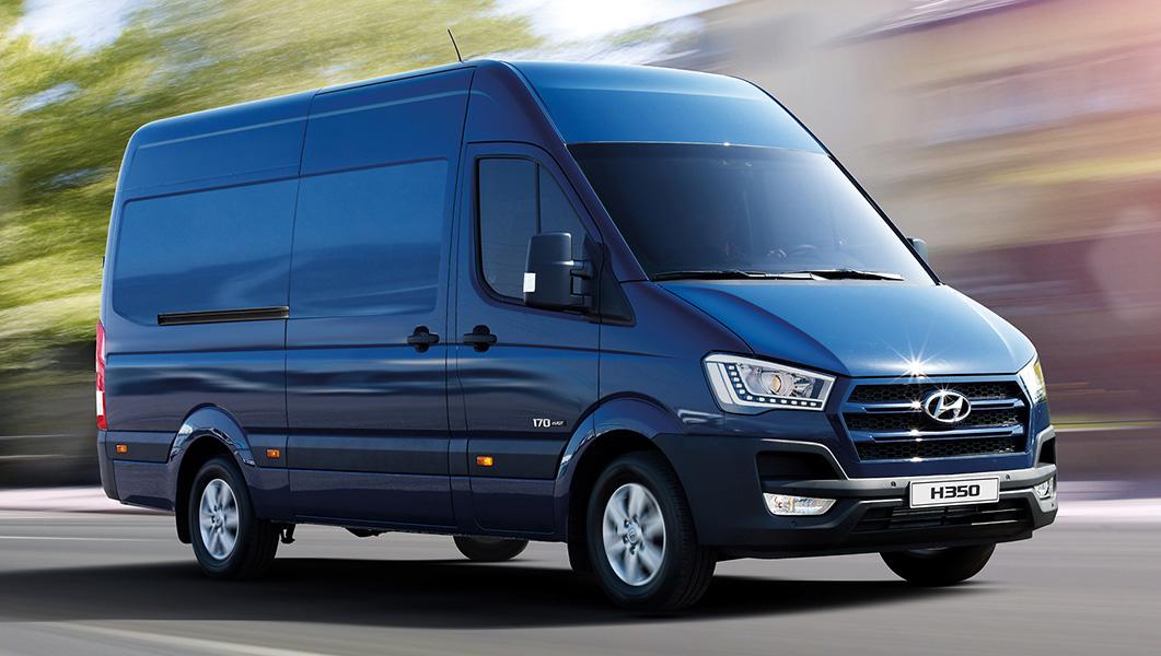 Hyundai H350 van of the year
