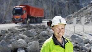 Raymond Langfjord, daglig leder ved gruven til Brønnøy Kalk.