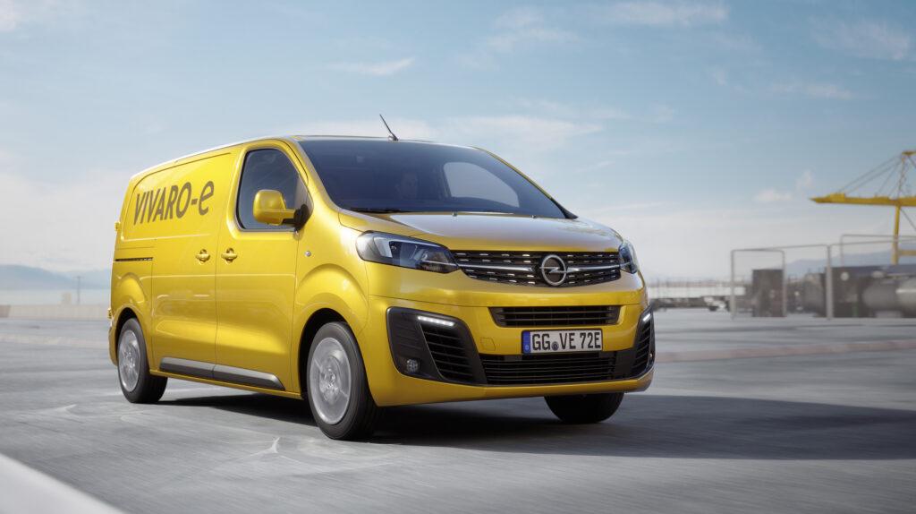 Opel Vivaro-e, foto