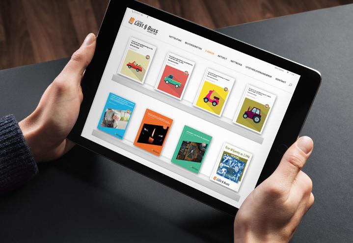 Enklere med digitalt kursmateriell for kursholdere